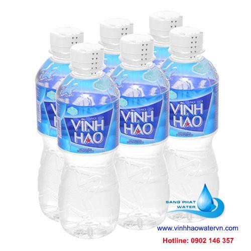 6 chai nước khoáng vĩnh hảo 350ml