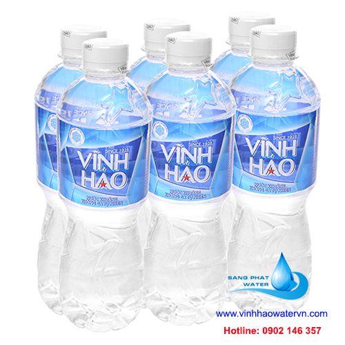 6 chai nước khoáng vĩnh hảo 500ml