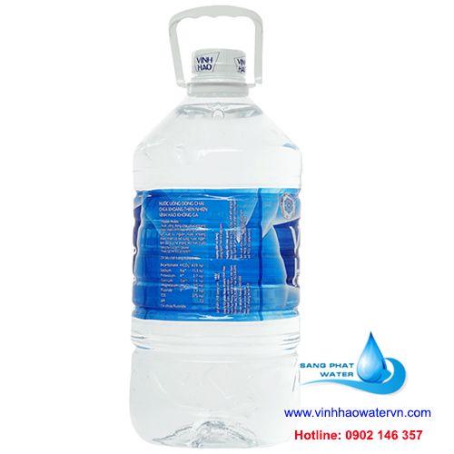 nước uống vĩnh hảo bình 5 lít