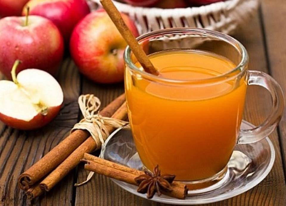 Nước quế và giấm táo